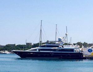 Яхта Valia в Сочи