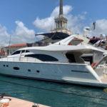 Прокат яхты Ferretti 57