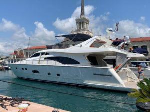 Яхта Ferretti 57 в Сочи