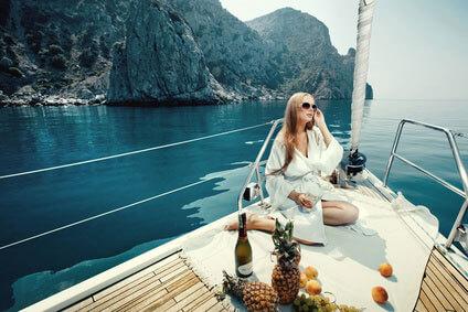 Фото- и виде-съемка на яхте в Сочи