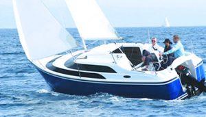 Моторно-парусные яхты