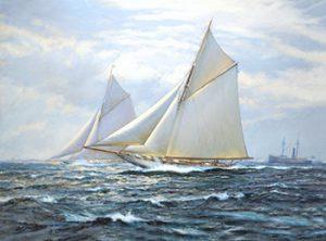 Первые яхты в истории