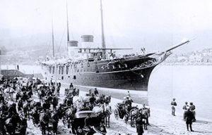 Яхта Романовых
