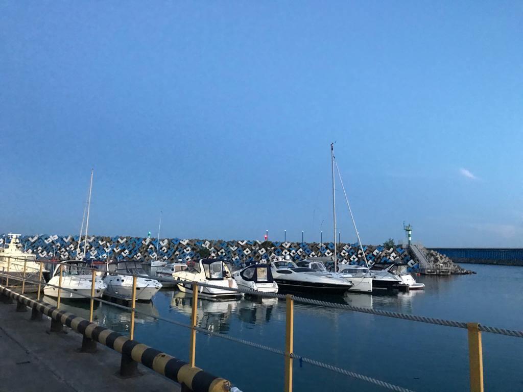 Имеретинский порт в Адлере