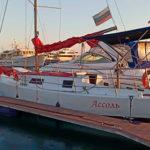 Прокат яхты Ассоль