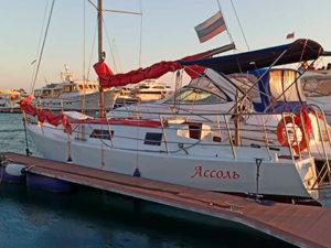 Яхта Ассоль в Сочи