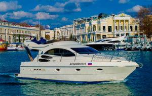 Яхта Azimut 39 в Сочи