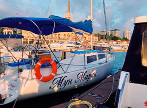 Яхта Мун Марин в Сочи