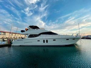 Яхта Rodman 64 в Сочи